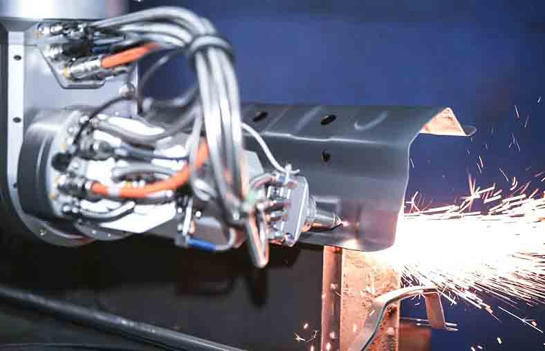 光纤激光切割头