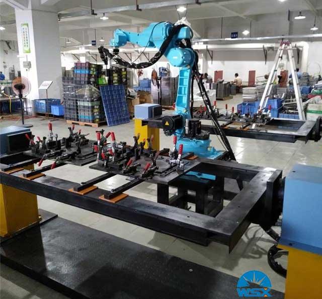 万顺兴焊接头机器人