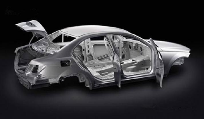 激光焊接白车身