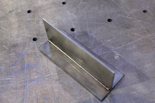 手持激光焊接头焊接效果